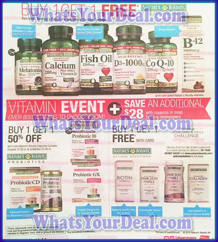 CVS Ad Scans January 3, 2016 - January 9, 2016