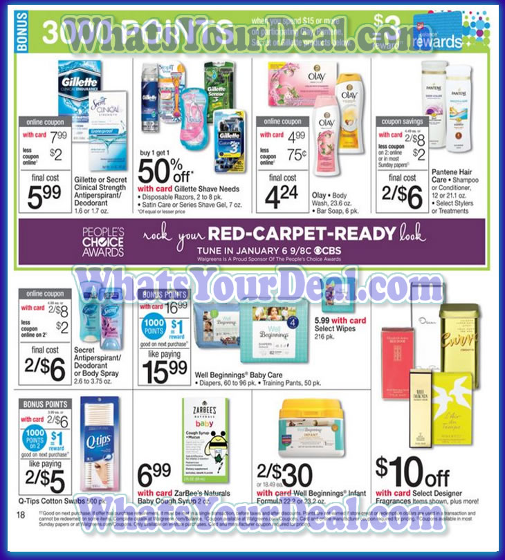 Walgreens Ad Scan January 3, 2016 - January 9, 2016