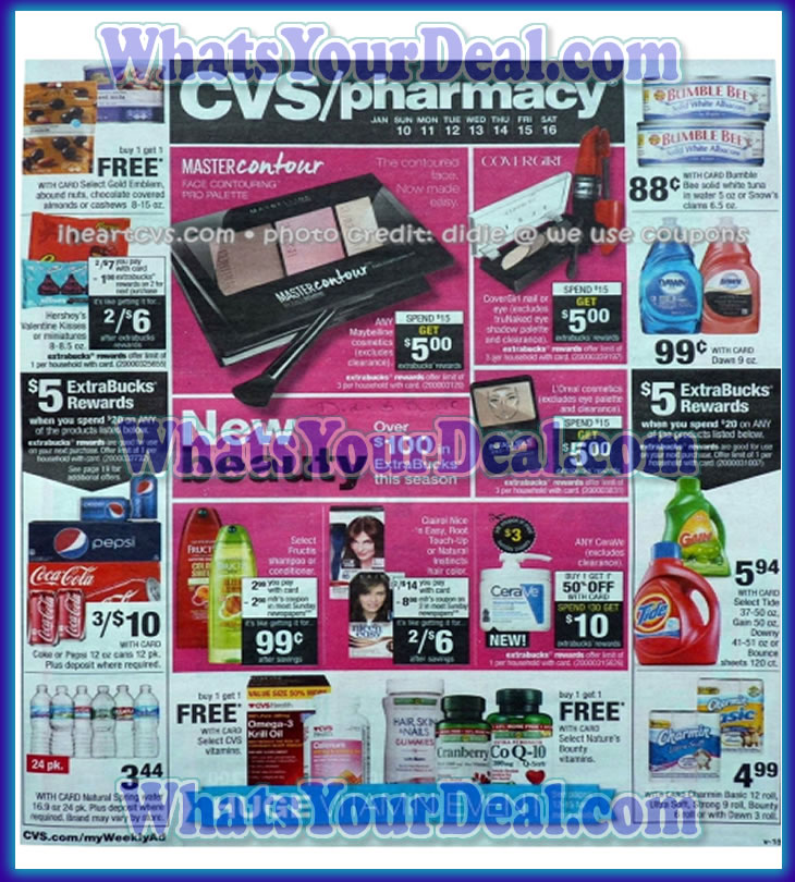 CVS Ad Scans January 10th 2016 -January 16th 2016