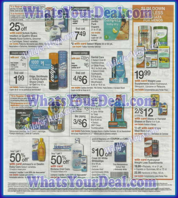 Walgreens Ad Scan January 10th 2016 - January 16th 2016