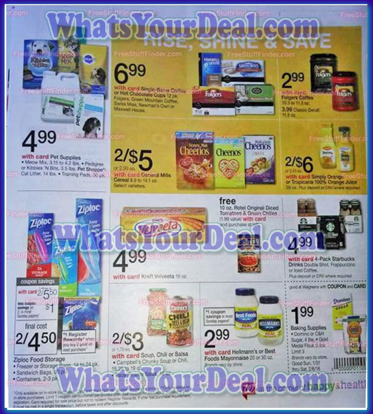 Walgreens Ad Scan January 31, 2016 - February 6, 2016